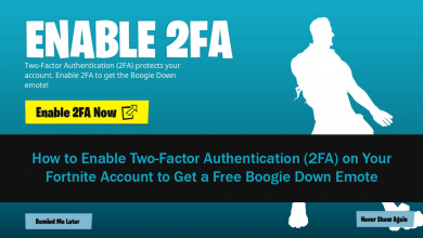 Photo of How to enable Fortnite two factor authentication and unlock the Boogie Down emote